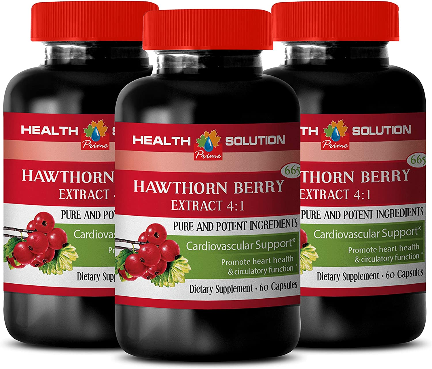 Cardiovascular Credence Health Supplement - Hawthorn a High quality new Pure Berry 665MG