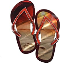 product image for Next Innovations Metal Wall Art Beach Decor Flip Flop Sandals