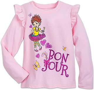 Fancy Nancy Bonjour T-Shirt for Girls Pink