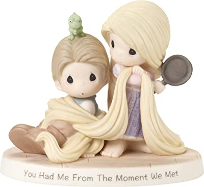 Precious Moments 181091 Disney Showcase Tangled You Had Me from The Moment We Met Bisque Porcelain Figurine