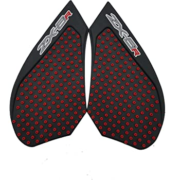 For KAWASAKI NINJA ZX6R 2009-2019 Motorcycle Gas Anti slip Stickers Traction Fuel Grip Decal Protector B