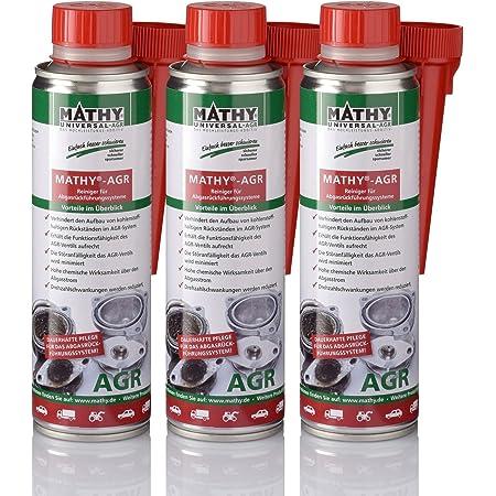 Mathy Agr Abgasrückführungsventil Reiniger 3 X 300 Ml Diesel Additiv Für Dieselmotoren Diesel Zusatz Einfache Anwendung über Den Tank Agr Ventil Reiniger Kraftstoffadditiv Auto