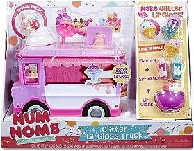 MGA Entertainment Num Noms Glitter Lip Gloss Truck Maquillaje y Belleza Estuche de Juego - Juegos de rol (Maquillaje y Belleza, Estuche de Juego, Chica, Multicolor, 254 mm, 228,6 mm)