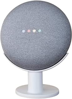 Mount Genie Pedestal for Nest Mini (2nd Gen) and Google Home Mini (1st Gen) | Improves Sound and Appearance | Cleanest Mou...