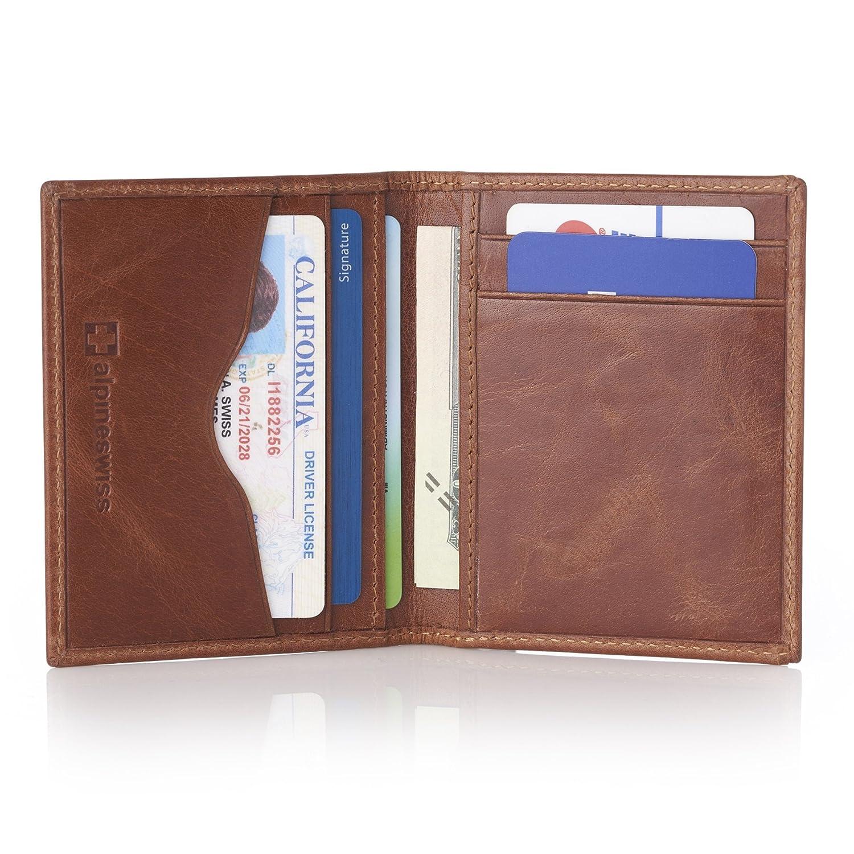 Alpine Swiss RFID Business Card Case Wallet zunoig4587771
