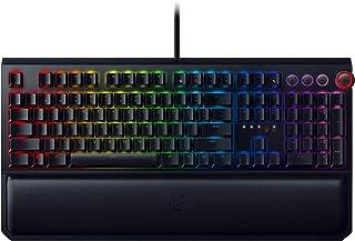 Razer BlackWidow Elite (Green Switch) - Gaming toetsenbord met mechanische schakelaars (actief & klikkend, palmsteun, RGB ...