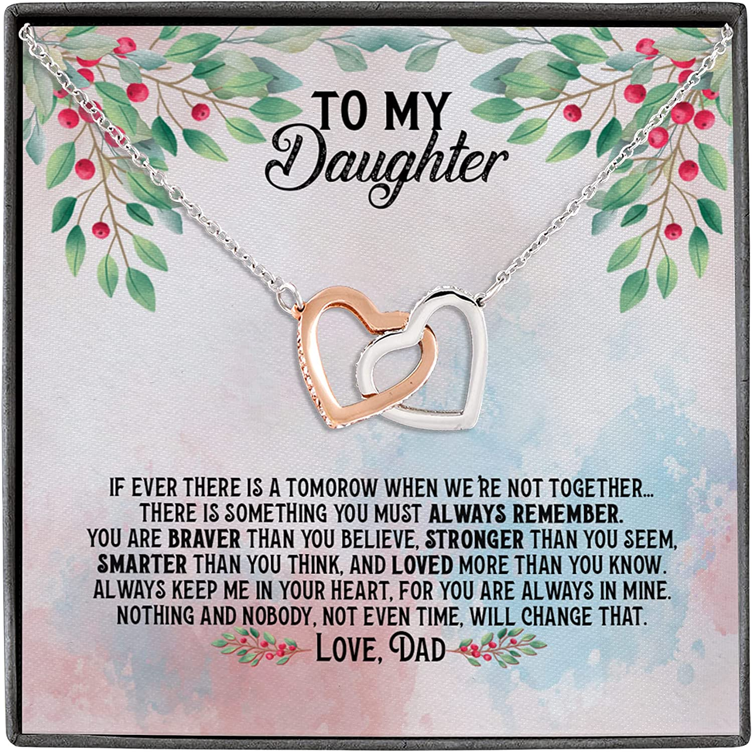 Max 44% OFF From Dad Many popular brands To My Daughter Ever Tomorrow Not We're Interlo Together