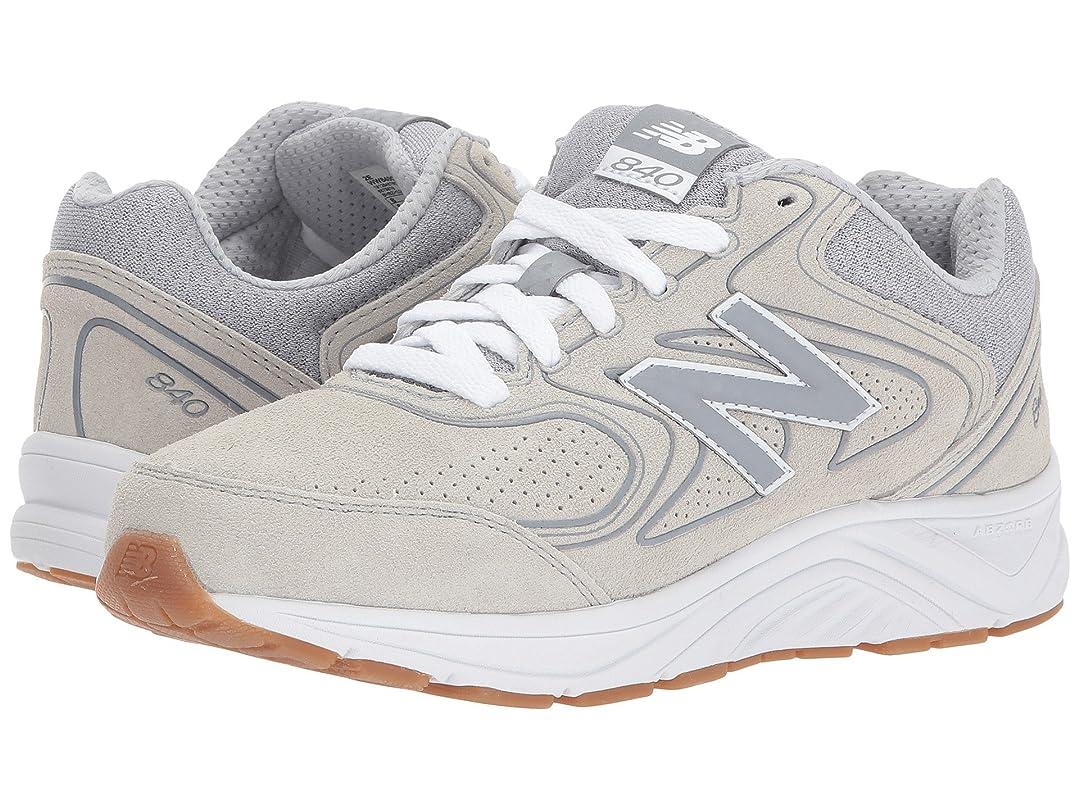 インド奨励蛇行レディースウォーキングシューズ?靴 WW840v2 Grey/Grey 6 (23cm) EE - Extra Wide [並行輸入品]