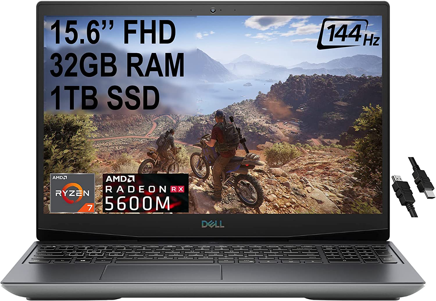 Flagship Dell G5 15 VR Ready Gaming Laptop 15.6