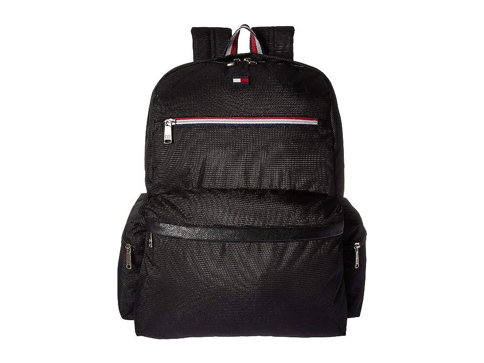 Tommy Hilfiger Lenox Hill Backpack (Black) Backpack Bags