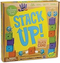 Peaceable Kingdom Stack Up! Award Winning Preschool Skills Builder Game for Kids