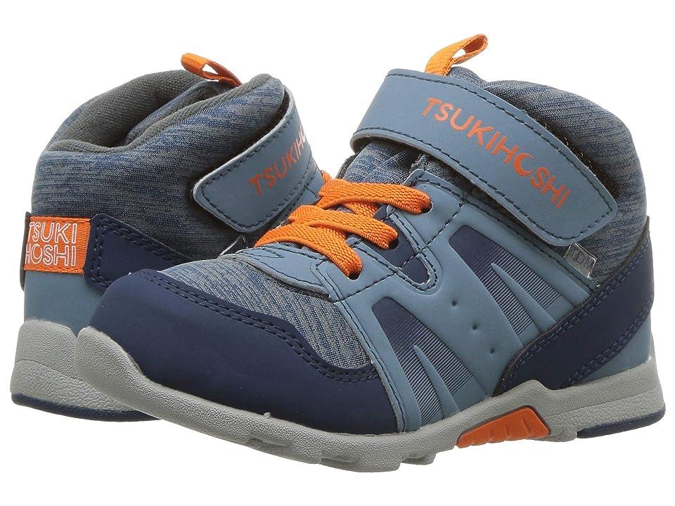 Tsukihoshi Kids Hike (Toddler/Little Kid) (Blue/Orange) Boys Shoes