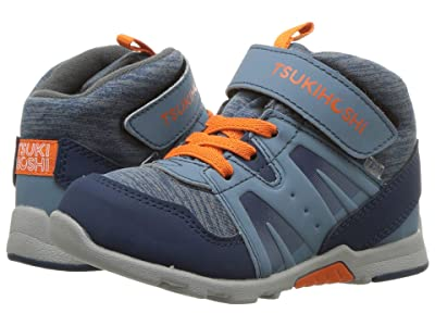 Tsukihoshi Kids Hike (Toddler/Little Kid) (Blue/Orange) Boys Shoes