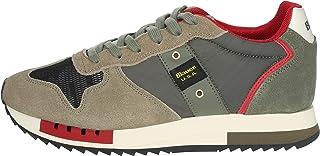 Blauer QUEENS01 Sneakers Uomo Beige/Verde 40