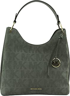 MICHAEL Michael Kors Women's Joan Large Slouchy Shoulder Bag in Army Green, Style 35T1GV9L3S.