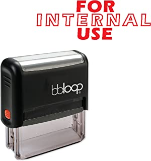 FOR INTERNAL USE - Self-Inking Rubber Stamp by bbloop