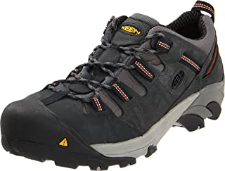 KEEN Utility Men's Detroit Low Steel Toe Shoe,Peacoat,8.5 EE US
