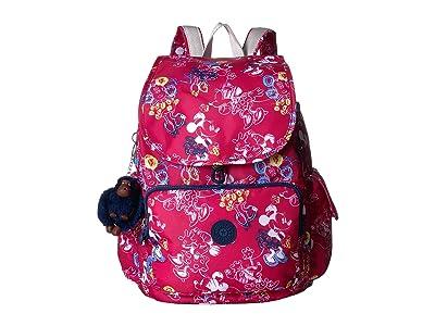 Kipling Minnie Citypack Backpack (Doodle Pink) Backpack Bags