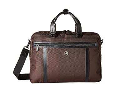 Victorinox 13 Werks Professional 2.0 Laptop Brief (Dark Earth) Bags