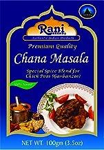 Rani Chana Masala (Garbanzo Curry Spice Blend) 3.5oz (100g) ~ All Natural   Vegan   No Colors   Gluten Free Ingredients   NON-GMO   Indian Origin