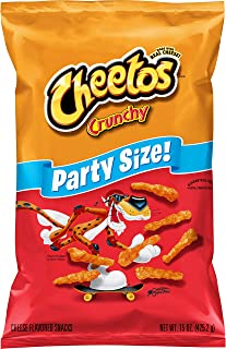 Cheetos Crunchy Party Size Cheese Flavored Snacks, 15oz
