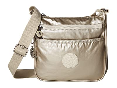 Kipling Jordan Crossbody Bag (Cloud Metal) Handbags