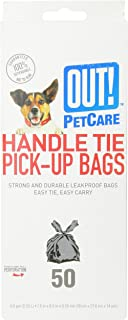 OUT Handle Waste Bags 7 5x8 5