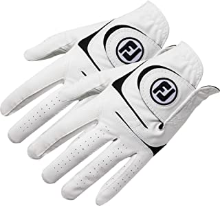 New FootJoy WeatherSof Mens Golf Gloves (2 Pack) (X-Large, Worn on Left Hand)