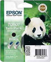 Epson T0501-C13T05014220 Siyah Orjinal Kartuş 2Li Paketi