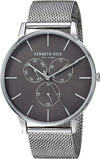 Kenneth Cole Reloj Analógico para Hombre de Cuarzo con Correa en Acero Inoxidable KC50008004