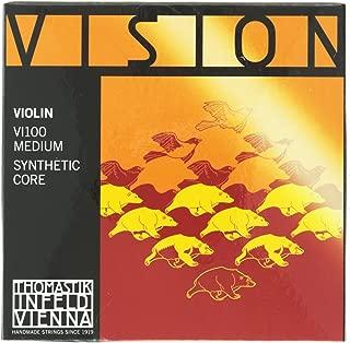 Thomastik Infeld Vienna Vision Violin Strings Set 4/4 Size VI100