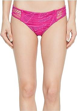 El Carnaval Sides Crochet Full Bikini Bottom
