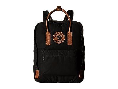 Fjallraven Kanken No. 2 (Black) Backpack Bags