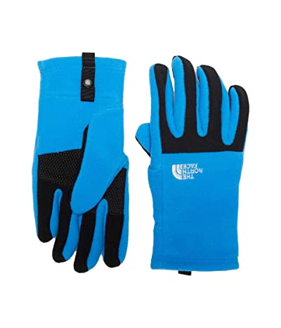The North Face Kids Denali Etip Gloves (Big Kids) (Clear Lake Blue) Extreme Cold Weather Gloves