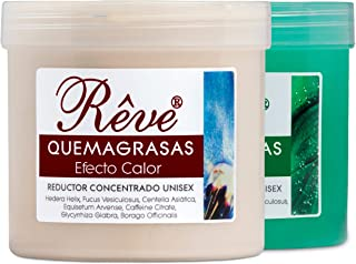 comprar comparacion REVE PACK Quemagrasas Efecto Calor + Efecto Frio - Gel de crema reafirmante adelgazante anticelulÌtica potente reductora d...