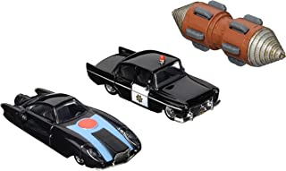 The Incredibles 2, 1:64 Scale Die-Cast Vehicle 3-Pack (Incredibile, Underminer Tunneler & Police Car)