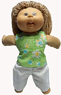 Doll Clothes Superstore Summer Fun Shirt with Cargo Pants Fits Cabbage Patch Kid Dolls