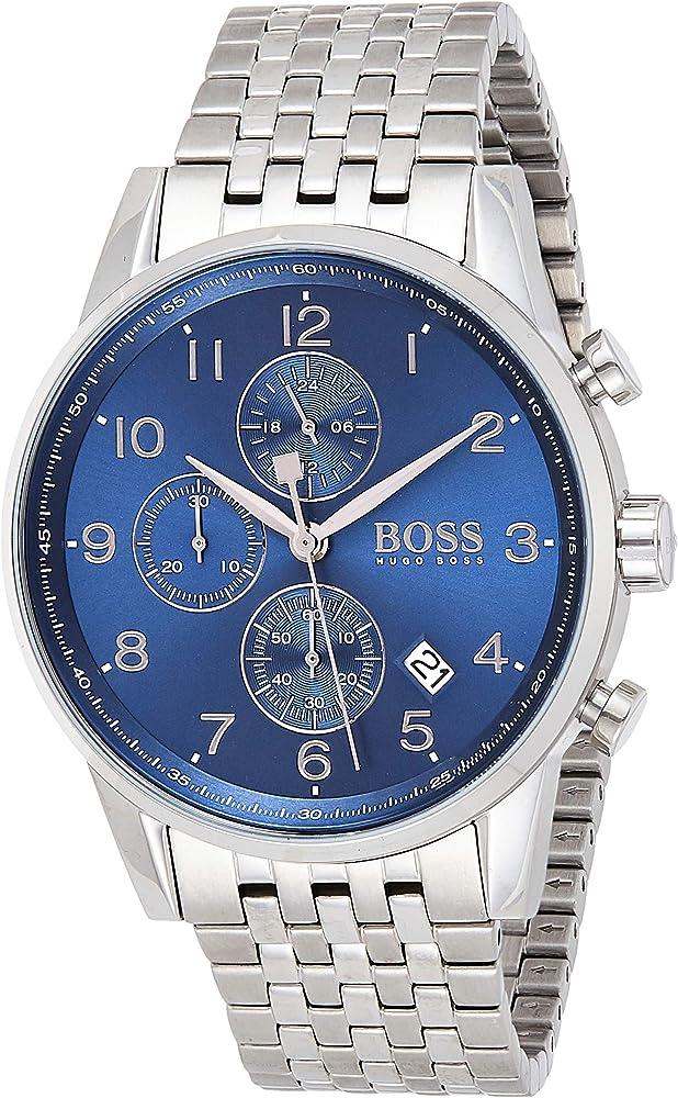 Hugo boss, orologio,cronografo per uomo,in acciaio inossidabile 1513498