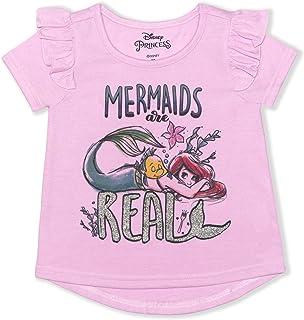 Disney Princess Girl's Good Hair Day Pullover Summer Blouse Tee Shirt