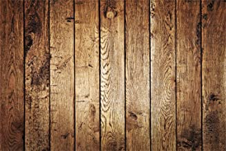 Laeacco Vintage Old Barn Backdrops 90cm x 60cm Vinyl Rustic Vertical Striped Wood Plank Backdrop Weathered Grunge Wood Texture Wall Background Wooden Board Children Adults Country Style Photo Shoot