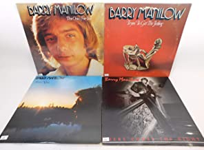 Barry Manilow Lot of 4 Vinyl Record Albums Here Comes the Night and more