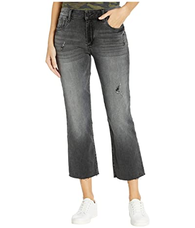 KUT from the Kloth Kelsey Ankle Flare with Raw Hem (Spiritually Wash) Women