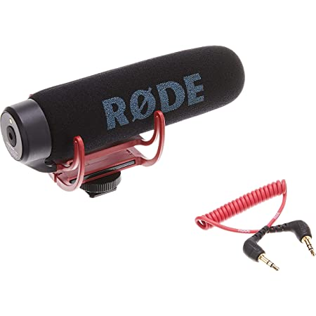 Rode Microphones VideoMic Go - Micrófono de condensador para cámara DSLR, Jack 3.5 mm, Color negro