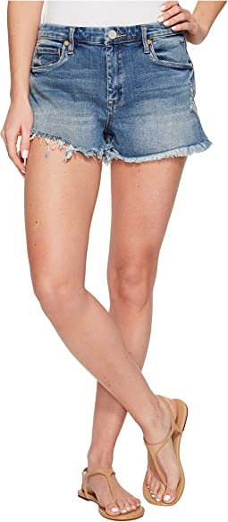 Blank NYC - High-Rise Wedge Shorts in Thank Me Later