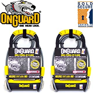 onguard 8005 pitbull dt u lock with cable