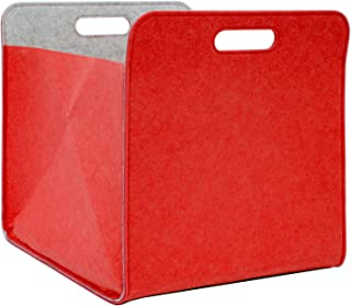 DuneDesign Filcowe pudełko do przechowywania 33x33x38 cm Ka