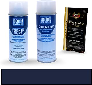 PAINTSCRATCH Nautical Blue Metallic 8S6 for 2017 Toyota 4Runner - Touch Up Paint Spray Can Kit - Original Factory OEM Automotive Paint - Color Match Guaranteed