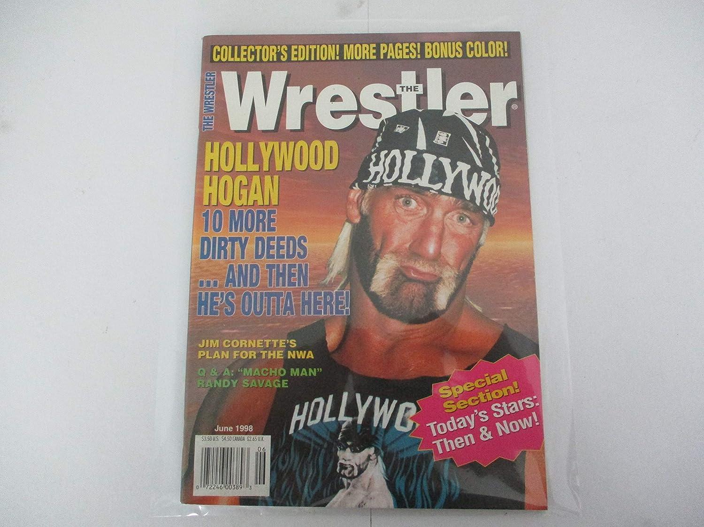 JUNE 1998 THE WRESTLER MAGAZINE FEATURING HOLLYWOOD HULK HOGAN ...