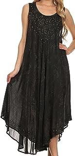 Mariko Stonewashed Caftan Dress/Cover Up