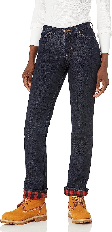 Carhartt Women's Original Fit Blaine Flannel Lined Jean